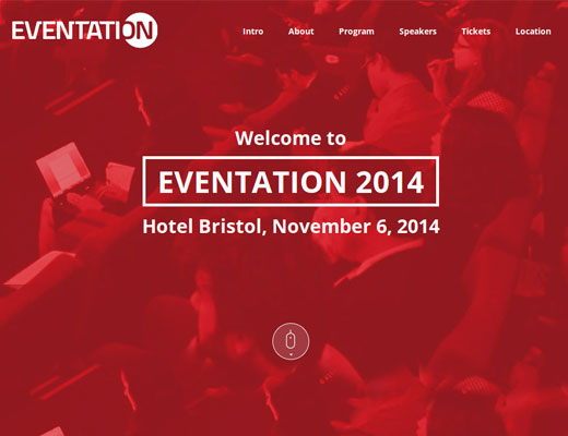 Template 027: Eventation
